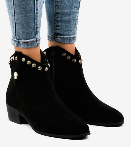Beżowe sneakersy damskie z ozdobami Sis