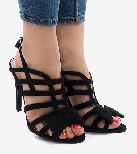 Czarne damskie buty sportowe Comoros