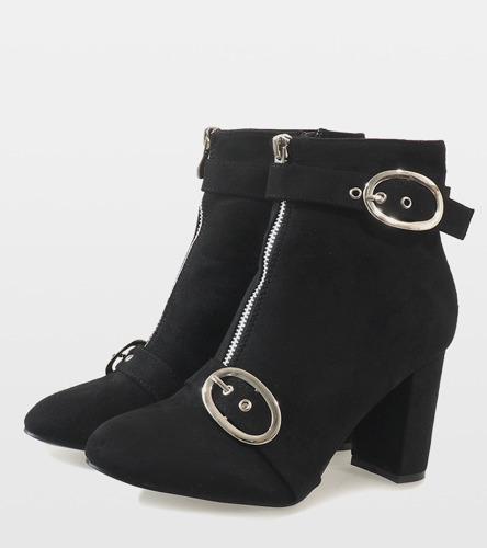 Czarne sneakersy Fit