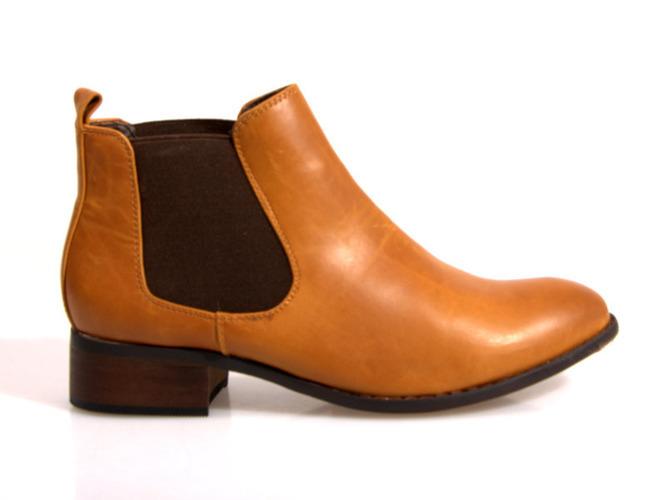 Kamelowe sandały na koturnie Carmel Bay